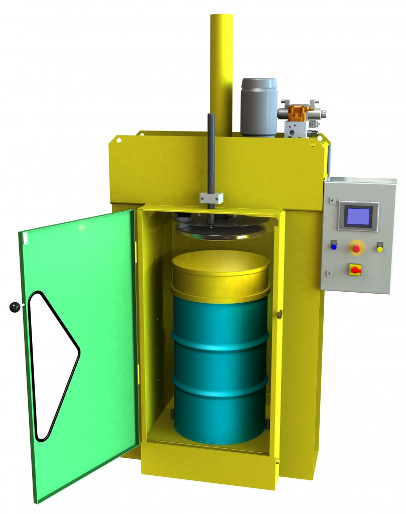 In-Drum press